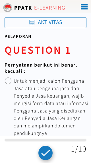 E-Learning PPATK